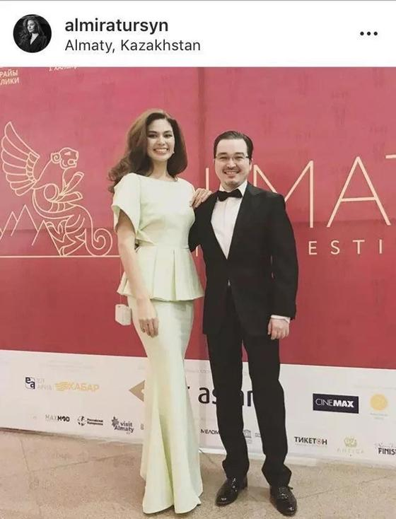 Альмира Турсын впервые показала своего мужа (фото)