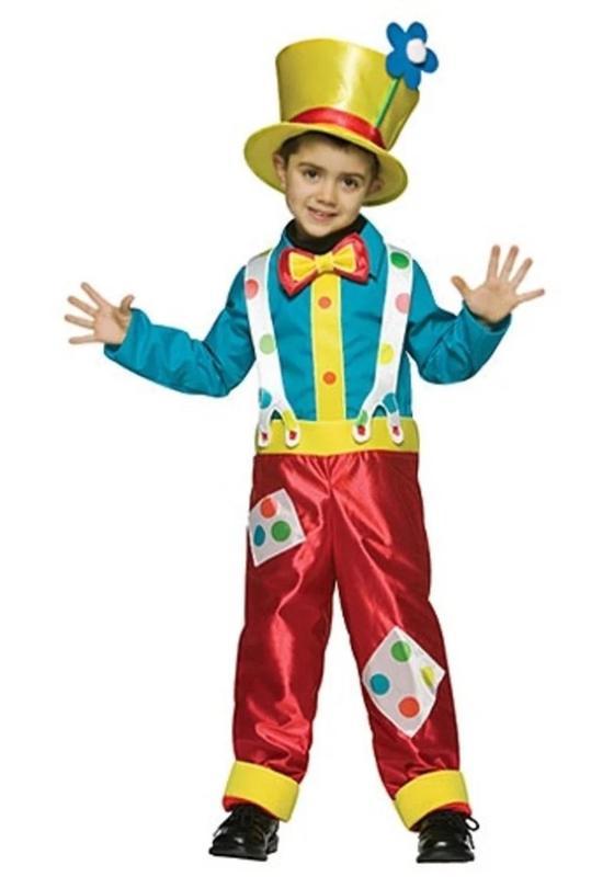 Костюм клоуна своими руками из подручных материалов