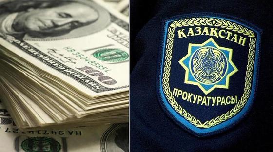Хотел «подчистить» досье: прокурор из Актобе попался на взятке в 40 тыс. долларов