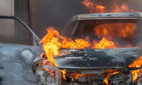 Тело пропавшего мужчины в ЮКО нашли в багажнике сгоревшего авто