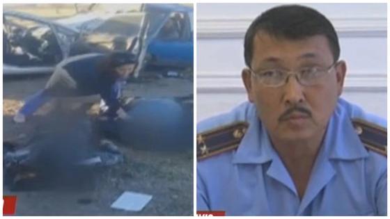 Начальник колонии и его водитель погибли в страшной аварии в Таразе