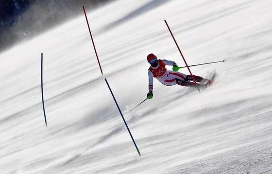 Игры-2018: горнолыжница Григорова — 54-я в слаломе после первой попытки