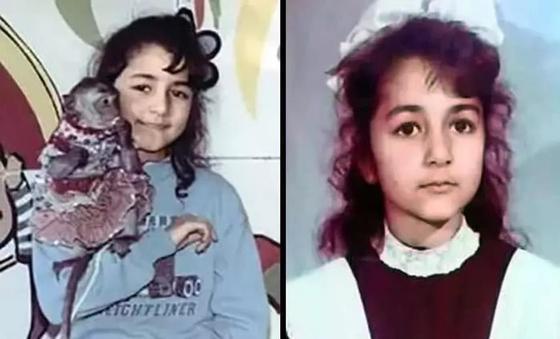 Певица Зара в детстве