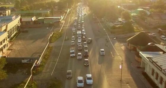 Автотрассу Алматы - Талгар расширят