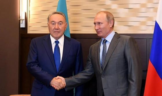 Назарбаев и Путин обсудили ситуацию по Сирии
