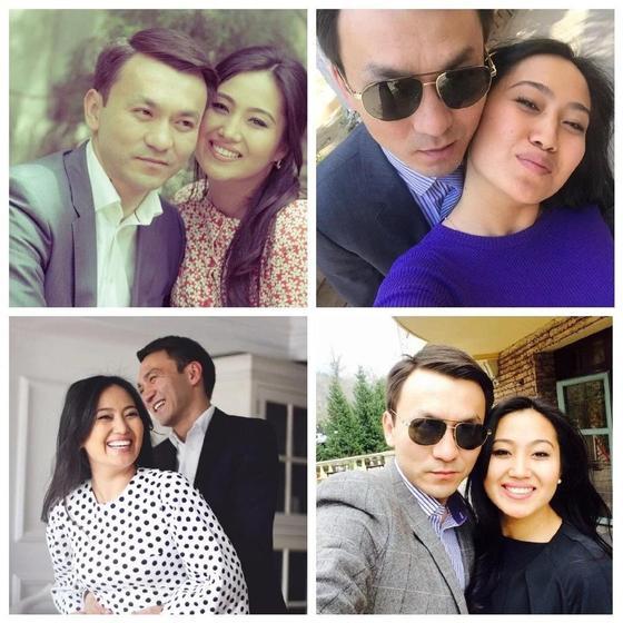 Динара Кырыкбаева с мужем. Фото: Instagram