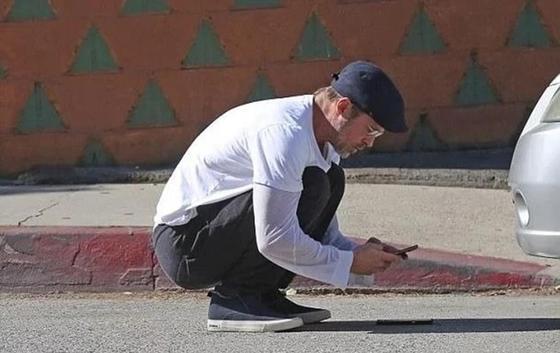 Брэд Питт попал в тройное ДТП в Лос-Анджелесе (фото)