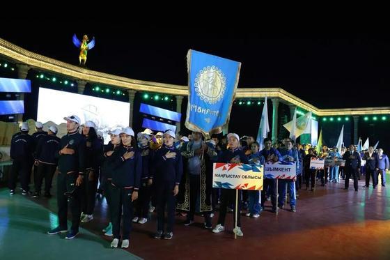 В Мангистау стартовали VI Игры народного спорта на призы президента РК