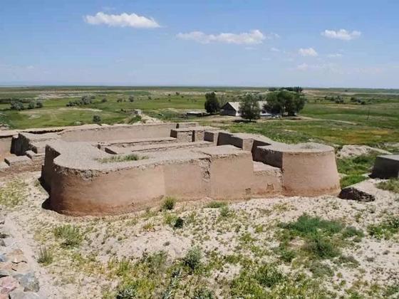 Великий шелковый путь на территории Казахстана
