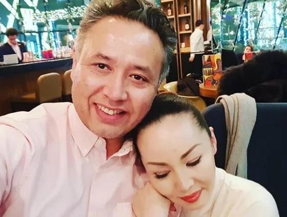 Турсенгали Алагузов с женой. Фото: Instagram