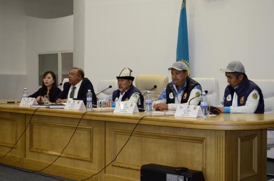 Участники экспедиции «Абылай ханның қара жолы» возвратились в Кокшетау