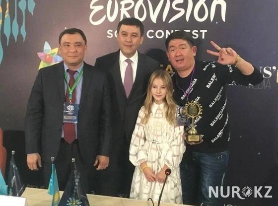 Данэлия Тулешова представит Казахстан на конкурсе «Детское Евровидение»