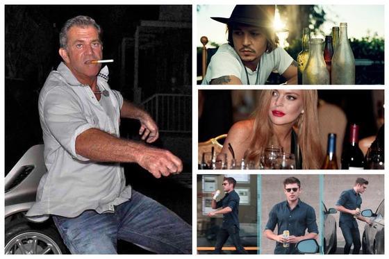 От славы до алкоголизма всего один шаг: 10 звезд шоу-бизнеса, подсевших на стакан