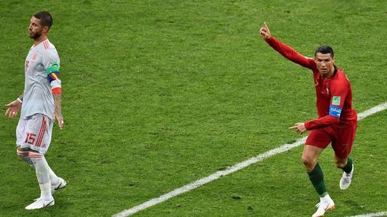Криштиану Роналду на ЧМ-2018 развил максимальную скорость в истории футбола