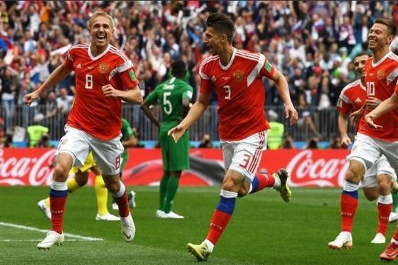 Первый матч ЧМ Россия - Саудовская Аравия закончился со счетом