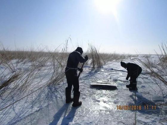 Житель Усть-Каменогорска утонул на зимней рыбалке