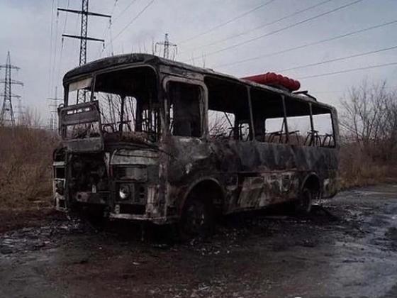 Ақтөбедегі автобус. Фото: Интернет желісінен