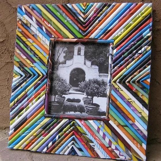 Рамки для фото своими руками из подручных материалов