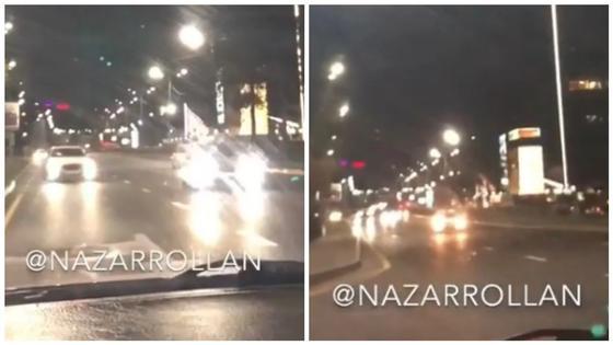 Водитель выехал на встречную полосу и снял это на камеру (видео)