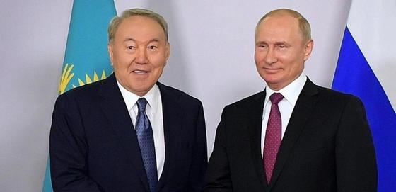 Назарбаев: Отношения Казахстана и России – это эталон