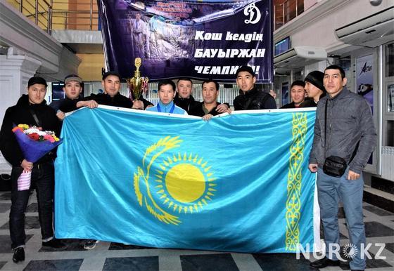 Полицейский из Атырау стал чемпионом мира