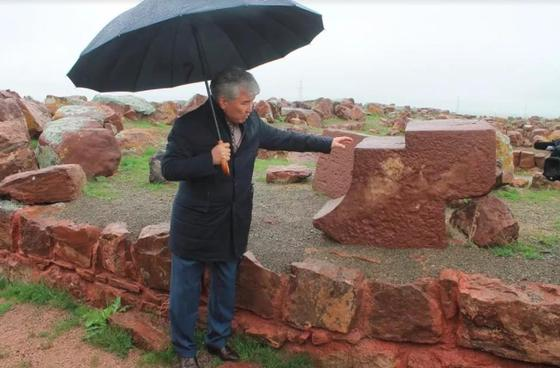 Тайну дворцового комплекса «Акыртас» изучают в Жамбылской области