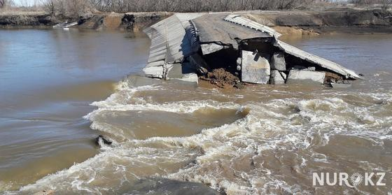 Прорыв плотины в ЗКО: ущерб 35 млн тенге выплатят подрядчики