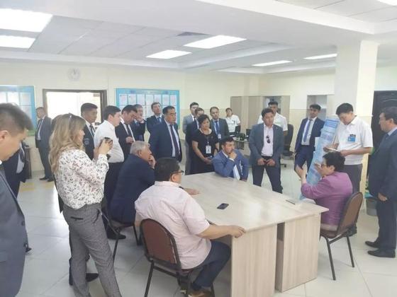 В Алматинскую область с рабочим визитом прибыли члены республиканской СМГ при АГДСПК