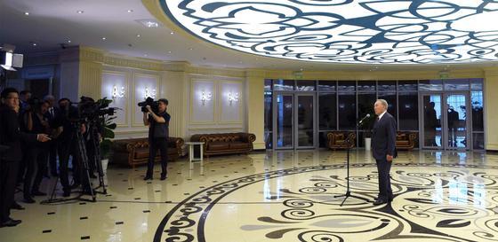 Назарбаев рассказал о своей поездке на Алаколь