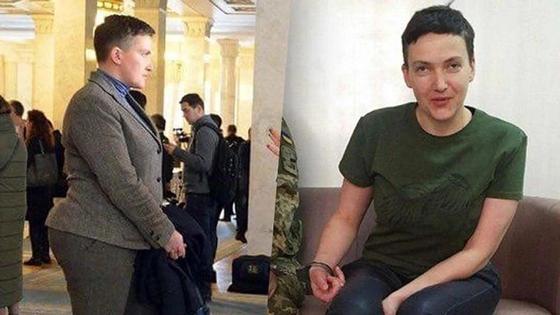 Фото исхудавшей после долгой голодовки Савченко появилось в Сети