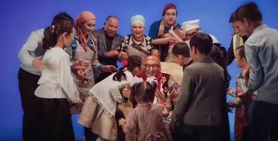 Шімән апаны бейнебаяны. Скриншот: Видеодан