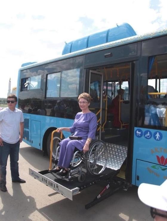 Новые экологичные автобусы появились в Актобе