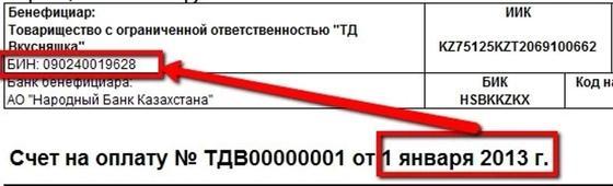 Что такое БИН в Казахстане