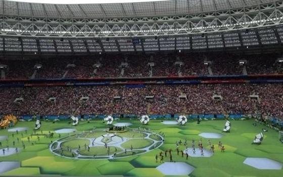 Открытие ЧМ по футболу в Москве: как это было