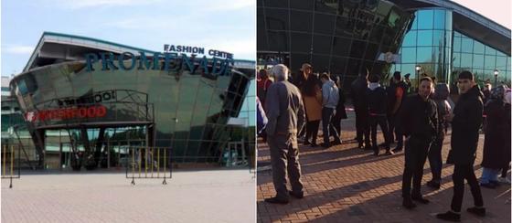 Людей эвакуировали из очередного торгового центра в Алматы (видео