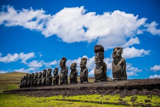 Ученые разгадали тайну каменных шляп истуканов острова Пасхи