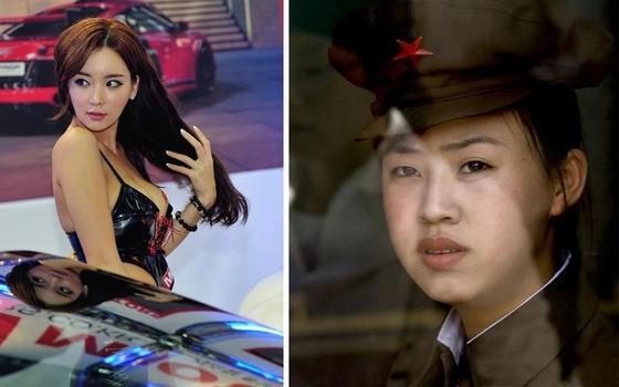 Девушки Южной и Северной Кореи- такие похожие и такие разные
