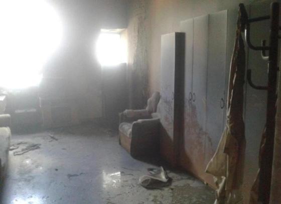 29 человек эвакуировали из-за пожара в больнице в Костанае