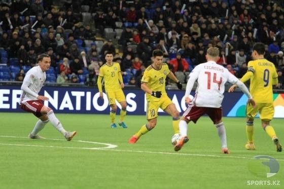 Сборная Казахстана потеряла шансы на выход из группы в Лиги наций (фото, видео)
