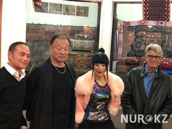 Голливудской актрисе не понравился казахстанский кумыс