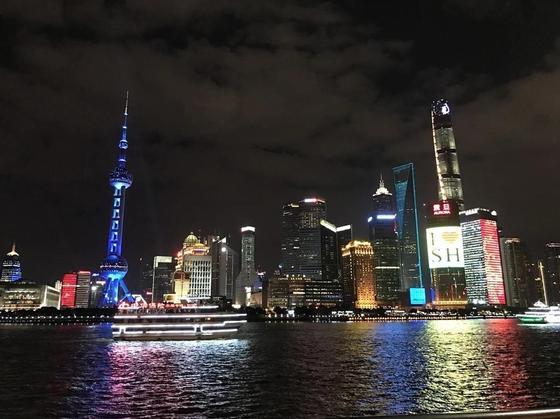 Самый большой город Шанхай