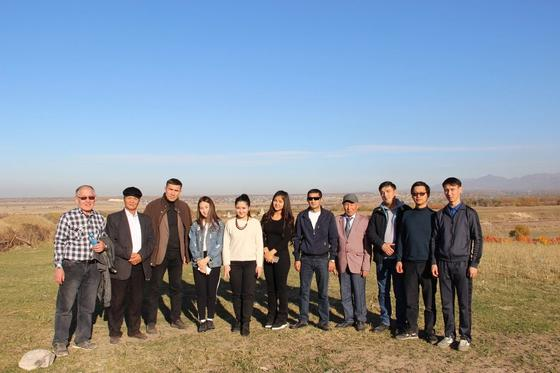 Журналисты Жетысу решили напасть на след сакских племен в Иссыке