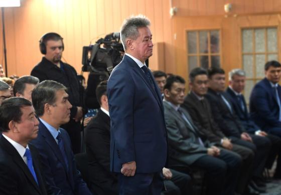 Назарбаев представил коллективу нового главу разведки (фото)