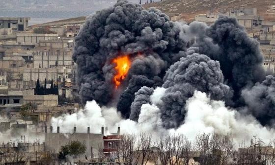 Турецкие самолеты нанесли авиаудары по сирийскому Африну