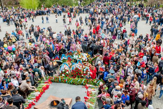 В ВКО 73-ю годовщину Дня Победы отмечают с размахом