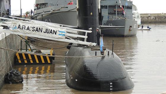 Пропавшая аргентинская подлодка нашлась через год