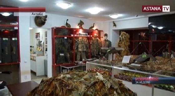 Как восстанавливали оружейный магазин, на который напали террористы в Актобе