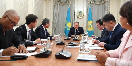 Назарбаев встретился с генеральным директором ВТО