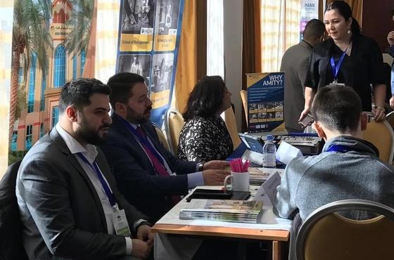 В Атырау впервые проходит выставка зарубежных ВУЗов «International Education Fair»
