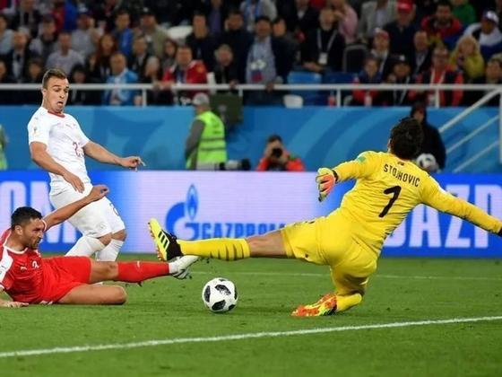 Швейцария одержала победу над Сербией в матче ЧМ-2018